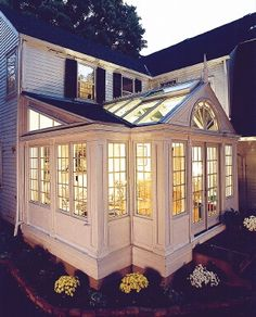 I would love to have a sunroom, for all my indoor plants