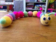 Sweet Crochet Caterpillar - free crochet pattern