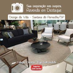 Design da Vila - Av. Valville, 550 - Alphaville, Santana de Parnaíba/SP #tapetes #decor #homedecor #decoração #tapetesparasala