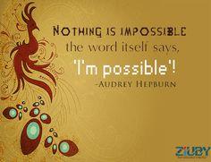 #possible #word By #ziuby #India #Pune #Hongkong #Bangalore #NewZealand https://www.ziuby.com