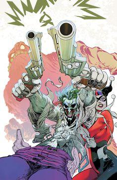 Harley Quinn & Joker in jacket