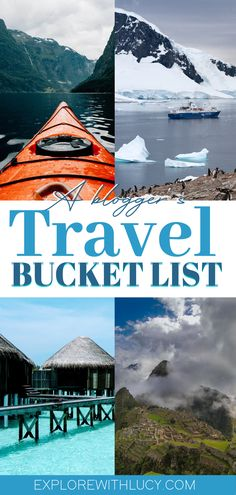How can you create your own travel bucket list? Simple, you've already started. No matter what kind of traveller you are, I can guarantee you have an idea of where you want to go next. Now it's time to set those ideas out and start ticking them off! Road Trip On A Budget, Budget Travel, Travel Guides, Travel Tips, Places To Travel, Travel Destinations, Prague Travel Guide, World Most Beautiful Place, See The Northern Lights