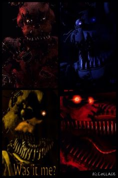 I am ready for Freddy and his creepy friends! Well maybe not Foxy... By the way Foxy, what did the do to you here? ~Toy Chica