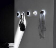 Illuminating Alone Coat Wall Hook