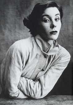 Portrait of Bettina by Irving Penn, 1950