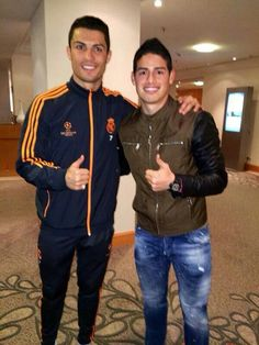 CR7 and james !!!! :)
