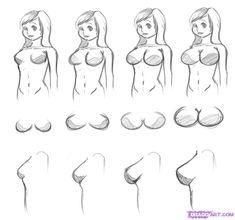 how to draw boobs in a bikini anime - Szukaj w Google