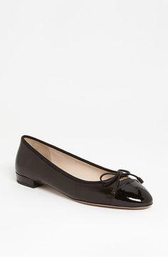 Prada Bow Ballerina Flat available at #Nordstrom