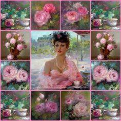 Verschillende soorten roze tinten heel mooi! #weirdcloset