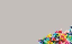 My colorful pixel desktop wallpaper
