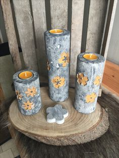 10 Outstanding Concrete Crafts That You Can DIY Anytime You Want - Decor Savage Cement Art, Concrete Cement, Concrete Crafts, Concrete Projects, Diy Crafts Tools, Diy And Crafts, Craft Projects, Papercrete, Creation Crafts