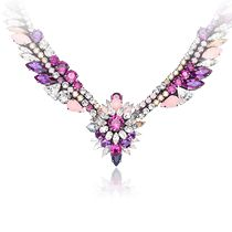 The Fall Winter collection - Swarovski by Shourouk Pink Necklace
