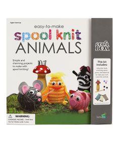 Spool Knit Animal