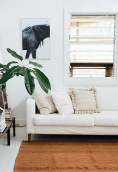 Pretty neutral pillow   follow @shophesby for more gypset boho modern lifestyle + interior inspiration www.shophesby.com
