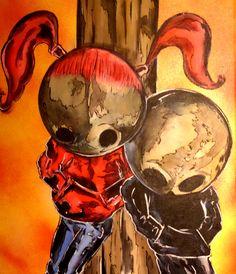 #kids #emo #tattoofacemiller #punks #dead #horror