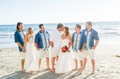 Beach Wedding of Audrey and Shonn