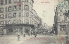 Rue de la Roquette à la Rue de la Folie-Regnault / Paris 11ème