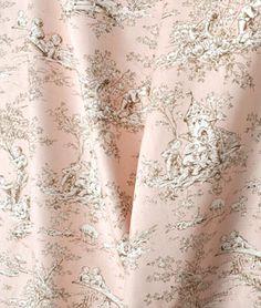 P. Kaufmann Central Park Toile Blush Fabric