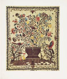 12 great quilts from the American Wing catalogue. 1974. Metropolitan Museum of Art (New York, N.Y.). Thomas J. Watson Library. Metropolitan Museum of Art Publications. #embroidery #american #needlework #birds