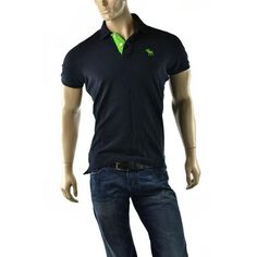 Check out this Abercrombie & Fitch Muscle Fit Polo Shirt. Get in on the deal the auction ends soon!