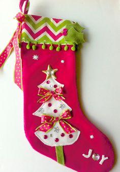 Girls Christmas Stocking