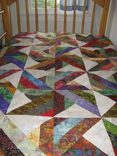 Great quilt from flickr..by Armchair quilter