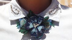 US$54.00 Flowers Jewelry Blue Agate Necklace Flowers Pendant Crochet Rope Freshwater Pearl Swarovski Crystal Natural Agate Toho Seed Beads Beadwork Statement Necklace Jewelry Beads Design Gems and Beads Blue Rainbow Beaded Flowers Jewelry Beads accessories  It is elegant jewelry suitable for everyday use and special occasions!  This flower necklace will be a great addition to your unique jewelry collection or a wonderful gift to a very special person. This statement necklace made of beaded…