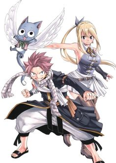Fairy Tail Lucy Heartfilia and Natsu Dragneel after one year time skip. Fairy Tail Lucy Heartfilia and Natsu Dragneel after one year time skip. Natsu Fairy Tail, Fairy Tail Lucy, Fairy Tail Ships, Art Fairy Tail, Image Fairy Tail, Fairy Tail Amour, Anime Fairy Tail, Fairy Tail Guild, Fairy Tales