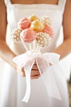 Cakepop bouquet, Wedding
