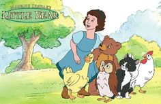Little Bear - one of her favorite TV shows ... and I actually liked it too!