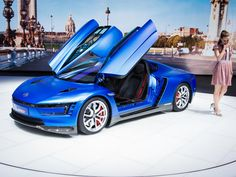 VW is giving the safe and easy to drive XL1 a power boost to create the 168 mph XL Sport concept.