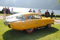 1952 Pegaso Z-102 Cupula Enasa de  Para saber más sobre los coches no olvides visitar marcasdecoches.org Bmw M1, Fancy Cars, Cute Cars, Vintage Cars, Antique Cars, Yellow Car, Bugatti Cars, Weird Cars, Futuristic Cars