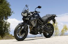 Triumph promo shot of the new Tiger 800 XR.