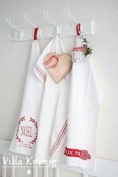 Foto: Tolle Küchentücher sind eingetroffen... Kann mich garnicht entscheiden, welches das Schönste ist. Und ihr?  Beautiful tea towels... I cannot decide which one I like most. And you?
