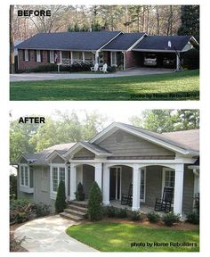 porch improvement for curb appeal