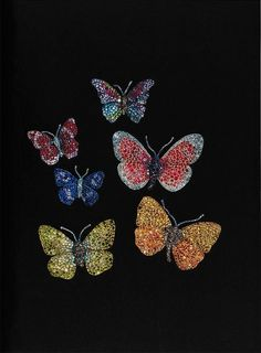 JAR jeweled butterflies