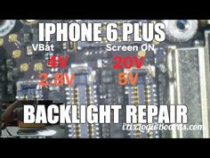 iPhone Plus backlight repair with a jumper wire. Another day another dose of bad backlight boards. This one had burned filter Iphone Repair, Mobile Phone Repair, Iphone 6 Backlight, Electronic Schematics, Iphone Hacks, Samsung Galaxy S6, 6s Plus, Apple Iphone, Smartphone