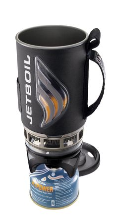 Jetboil Flash Cooking System - I've been using one of these for years. A great backpacking stove. Everything packs inside itself for a tidy kit! $99.95