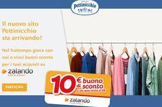 Con Pettinicchio riceverai subito un buono sconto da 10 Euro da utilizzare sul tuo prossimo acquisto Zalando fino al 25 Gennaio 2015! Scopri subito come averlo!