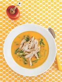 Spicy Sweet Potato Soup with Chicken - Healthy Recipe Finder | Prevention
