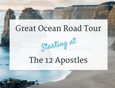 Great Ocean Road Self Drive Starting at the 12 Apostles Self Driving, Thing 1 Thing 2, The Good Place, Road Trip, Ocean, Tours, Australia, Road Trips, Sea