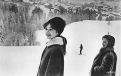 Audrey and Ella 1963 in France
