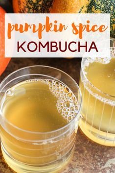 Pumpkind Spice Kombucha Recipe