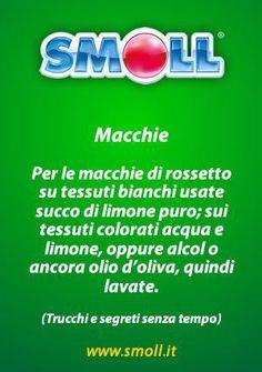 #macchie #rossetto #smacchiare #consigli