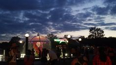 Bonnaroo at dusk