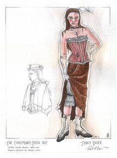 threepenny opera costumes - Google Search