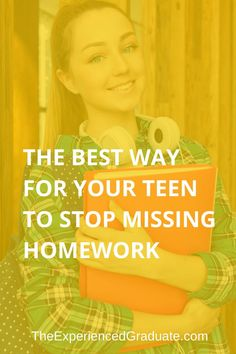 Does your teen or student currently have some missing homework listed in the grade book? Most students usually miss a few homework assignment Missing Homework, Do Homework, High School Hacks, School Tips, Parenting Teenagers, Parenting Hacks, Educational Activities For Kids, Study Skills, New Students