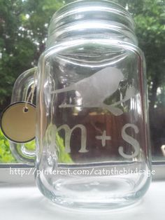 Etched/Painted Glass on Pinterest | 15 Pins