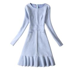 Women Dress for Autumn & Winter with Long Sleeve