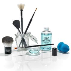 """Ahh, spring cleaning! Spring is the perfect time to go through your makeup and toss out the old to make room for the new, to freshen things up a bit. As you go through your drawers, bags, and cases, take note of your brushes. We HOPE that you are regularly cleaning them, but we KNOW that some of you are thinking """"It's not like I apply tons of makeup every day, so I don't need to wash them that much."""" If that sounds like you, you need to start cleaning - and fast! All the effort you put into…"""
